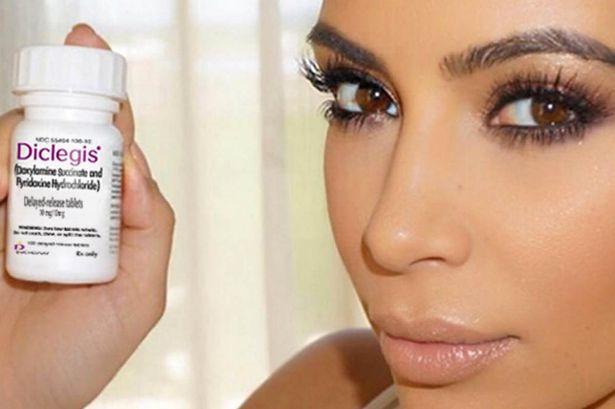Is Kim Kardashian Promoted A New Medication?