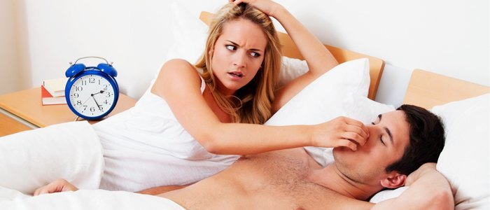 How to make someone stop snoring
