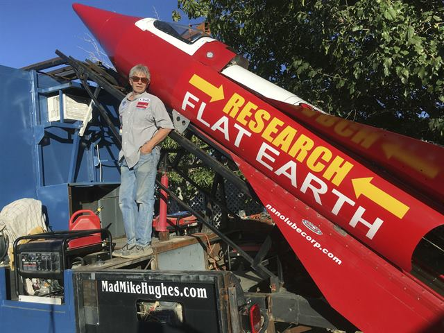 Flat Earther Builds and Launches Rocket